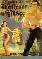 Son of Fury: The Story of Benjamin Blake - German Movie Poster (xs thumbnail)