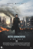 Star Trek: Into Darkness - Danish Movie Poster (xs thumbnail)