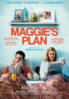 Maggie's Plan - Swiss Movie Poster (xs thumbnail)