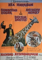 Doctor Dolittle - Swedish Movie Poster (xs thumbnail)