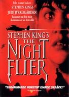 The Night Flier - Swedish DVD cover (xs thumbnail)