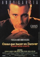 Things to Do in Denver When You're Dead - Spanish Movie Poster (xs thumbnail)