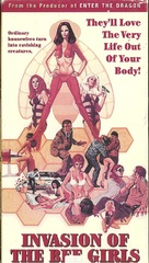 Invasion of the Bee Girls - VHS cover (xs thumbnail)