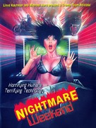 Nightmare Weekend - DVD movie cover (xs thumbnail)