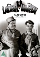Pardon Us - British DVD movie cover (xs thumbnail)