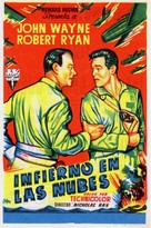 Flying Leathernecks - Spanish Movie Poster (xs thumbnail)
