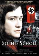 Sophie Scholl - Die letzten Tage - Spanish Movie Poster (xs thumbnail)