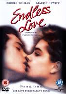 Endless Love - British DVD movie cover (xs thumbnail)