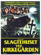 Quella villa accanto al cimitero - Danish Movie Poster (xs thumbnail)