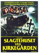 Quella villa accanto al cimitero - Danish Movie Poster (xs thumbnail)