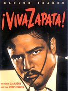 Viva Zapata! - French DVD cover (xs thumbnail)