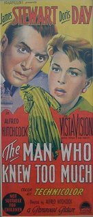 The Man Who Knew Too Much - Australian Movie Poster (xs thumbnail)