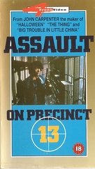 Assault on Precinct 13 - British Movie Cover (xs thumbnail)