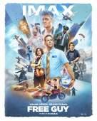 Free Guy - French Movie Poster (xs thumbnail)