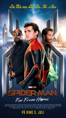 Spider-Man: Far From Home - Norwegian Movie Poster (xs thumbnail)