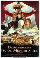 The Adventures of Baron Munchausen - German Movie Poster (xs thumbnail)