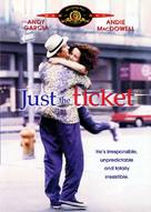 Just the Ticket - DVD cover (xs thumbnail)