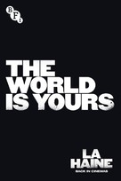 La haine - British Movie Poster (xs thumbnail)