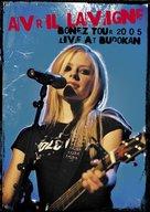Avril Lavigne: The Bonez Tour - DVD movie cover (xs thumbnail)