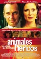Animals ferits - Spanish Movie Poster (xs thumbnail)