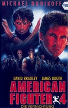 American Ninja 4: The Annihilation - German VHS cover (xs thumbnail)