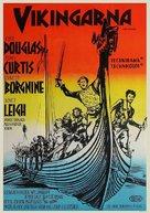 The Vikings - Swedish Movie Poster (xs thumbnail)