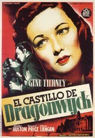 Dragonwyck - Spanish Movie Poster (xs thumbnail)
