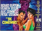 The Comedians - British Movie Poster (xs thumbnail)