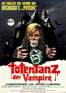 The House That Dripped Blood - German Movie Poster (xs thumbnail)