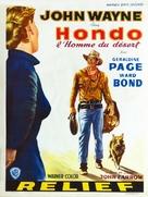 Hondo - Belgian Movie Poster (xs thumbnail)