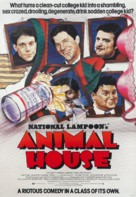Animal House - British Movie Poster (xs thumbnail)