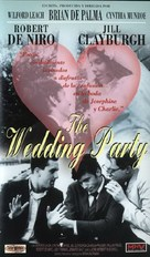 The Wedding Party - Spanish VHS movie cover (xs thumbnail)