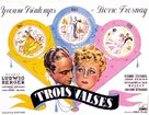 Les trois valses - French Movie Poster (xs thumbnail)