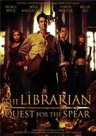 The Librarian: Quest for the Spear - DVD cover (xs thumbnail)