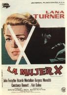 Madame X - Spanish Movie Poster (xs thumbnail)
