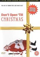 Don't Open 'Til Christmas - British DVD cover (xs thumbnail)
