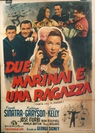 Anchors Aweigh - Italian Movie Poster (xs thumbnail)