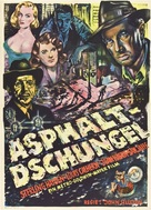 The Asphalt Jungle - German Movie Poster (xs thumbnail)