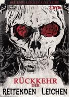 El ataque de los muertos sin ojos - German DVD movie cover (xs thumbnail)