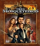 The Three Musketeers - Brazilian Movie Cover (xs thumbnail)