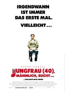 The 40 Year Old Virgin - German Movie Poster (xs thumbnail)