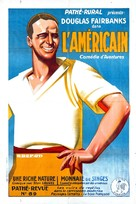 The Americano - French Movie Poster (xs thumbnail)