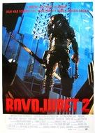 Predator 2 - Swedish Movie Poster (xs thumbnail)