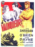 Indianapolis Speedway - French Movie Poster (xs thumbnail)