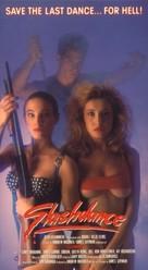 Murderock - uccide a passo di danza - VHS cover (xs thumbnail)