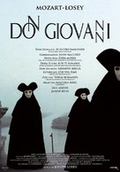 Don Giovanni - Spanish Movie Poster (xs thumbnail)
