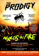The Prodigy: World's on Fire - Bulgarian Movie Poster (xs thumbnail)