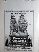 Amico, stammi lontano almeno un palmo - German Movie Poster (xs thumbnail)