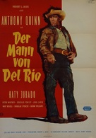 Man from Del Rio - German Movie Poster (xs thumbnail)
