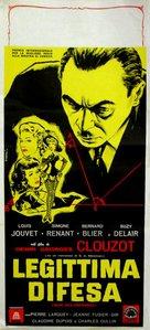 Quai des Orfèvres - Italian Movie Poster (xs thumbnail)